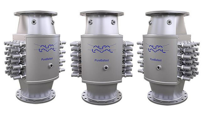 USCG type approval issued for Alfa Laval PureBallast 3 1500 m3/h reactor