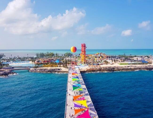 ROYAL CARIBBEAN OPENS $250 MILLION PRIVATE ISLAND IN THE BAHAMAS, PERFECT DAY AT COCOCAY