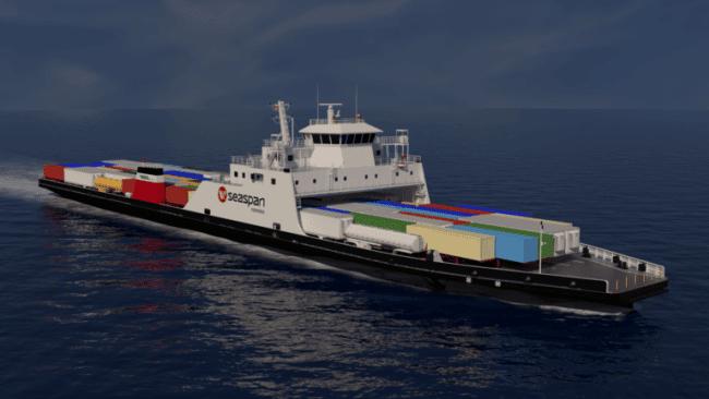 Two new LNG-Hybrid vessels to join Seaspan Ferries fleet