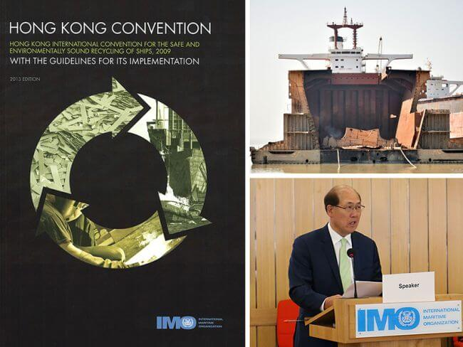 Ship recycling needs the Hong Kong Convention