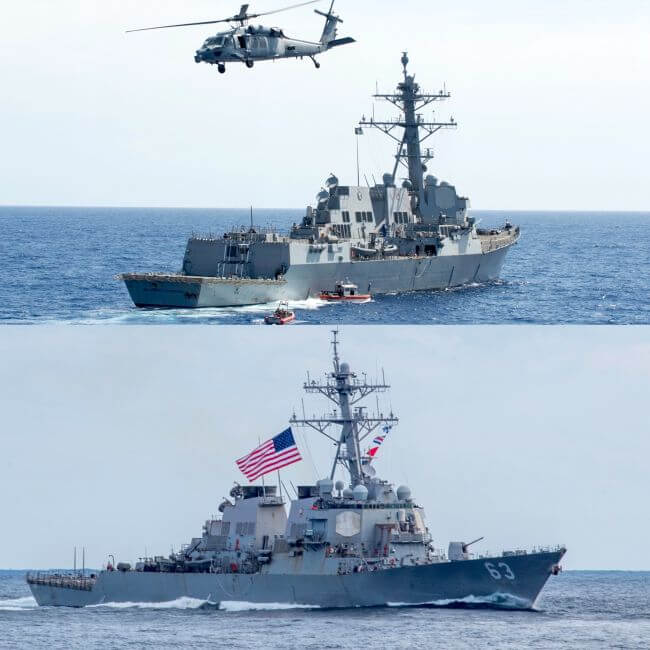 U.S. Navy Warships