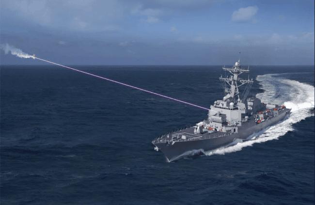US Navy Fighter Laser