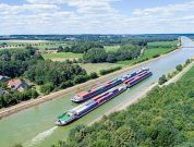 HVCC optimizes the handling of inland waterway vessels in the Port of Hamburg