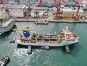 Jan De Nul launches fourth Ultra-Low Emission vessel