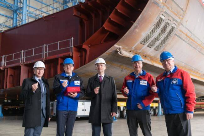 Royal Caribbean Marks Construction Milestone For Odyssey Of The Seas