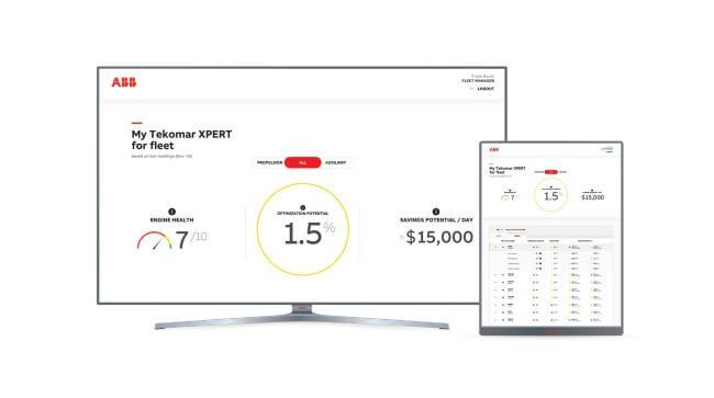 ABB Ability™ Tekomar XPERT now available for use on a fleet-wide scale