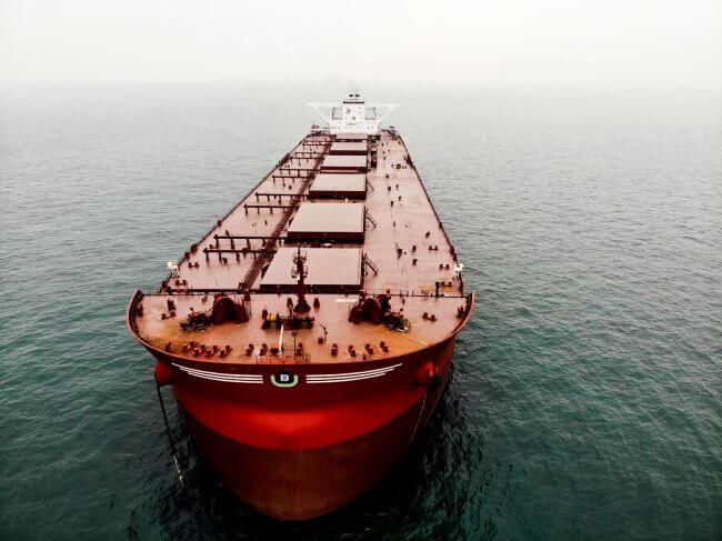 Berge Bulk 300,000 carrier