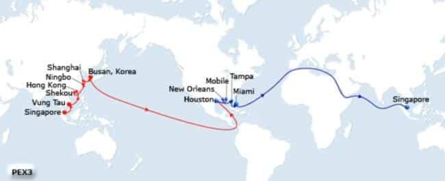 CMA CGM DALILA Makes Inaugural Call at Port Tampa Bay