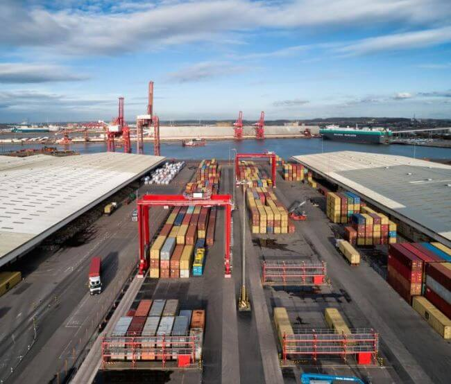 Container service boost at Bristol Port