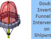 Double Inverted Funnel for Intervention on Shipwrecks