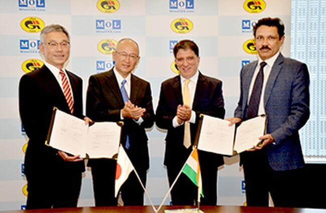MOL and GAIL Sign Charter Contract for one LNG Carrier