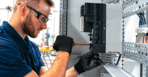 Motor Starter Panel on Ships Maintenance and Routines