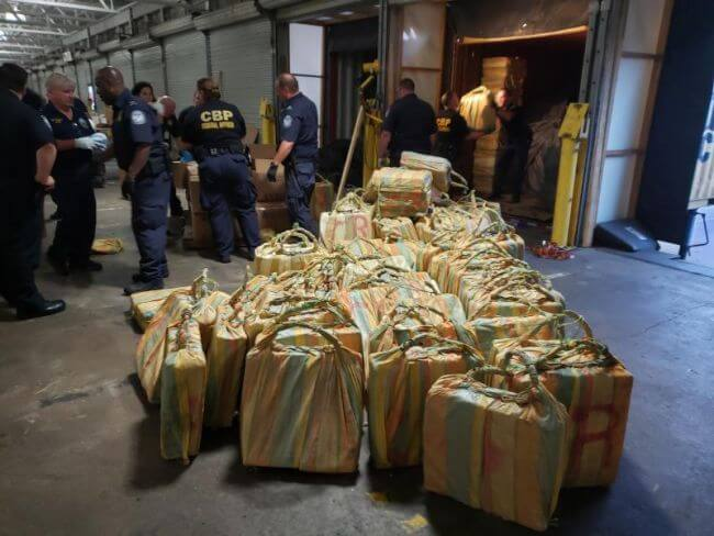 U.S. Customs and Border Protection Seizes over 17.5 Tons of Cocaine in Philadelphia