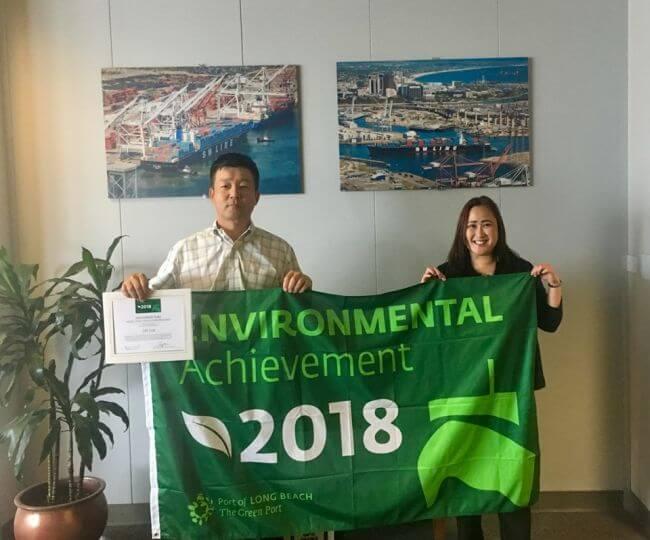 Port's Green Flag program rewards ocean carriers