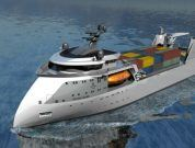 Ulstein Introduces The X-bow® In 'Compact Concept' Ropax Designs