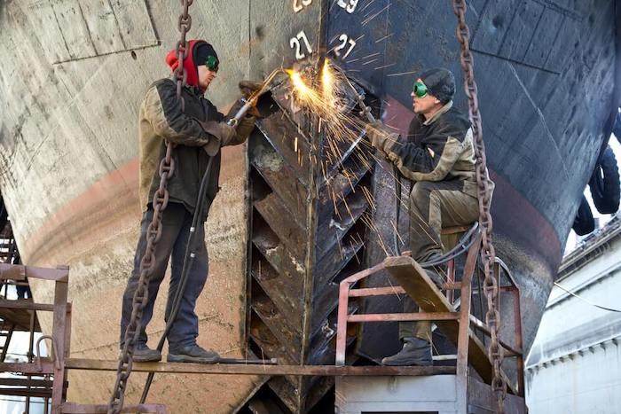 Ship building material