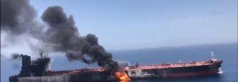 Tanker Attack Hormuz