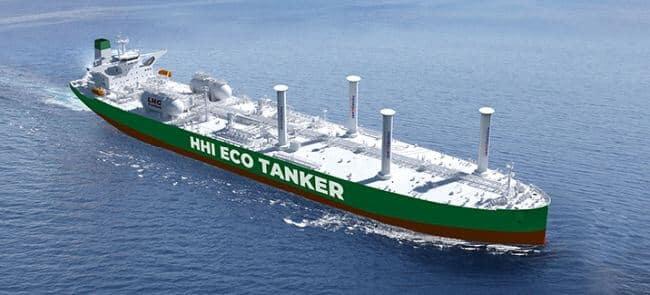 HHI receives approval for VLCC 'eco-tanker' design.