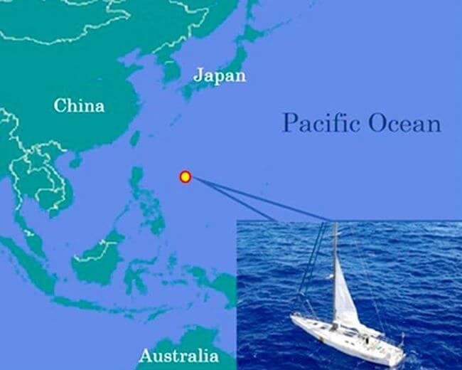 MOL LNG Carrier Rescues Castaway