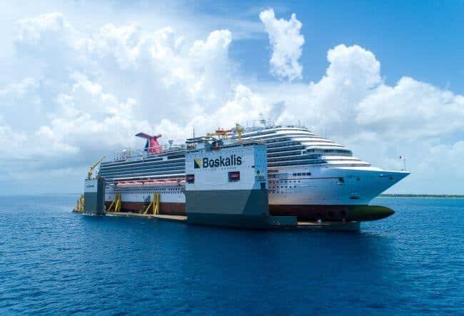 BOKA_Vanguard_loaded_with_cruise_ship_Carnival_Vista