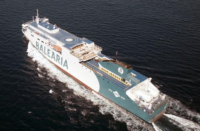 Baleària 4th LNG Ship Marie Curie