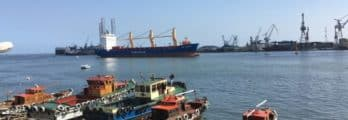 Bizerta port