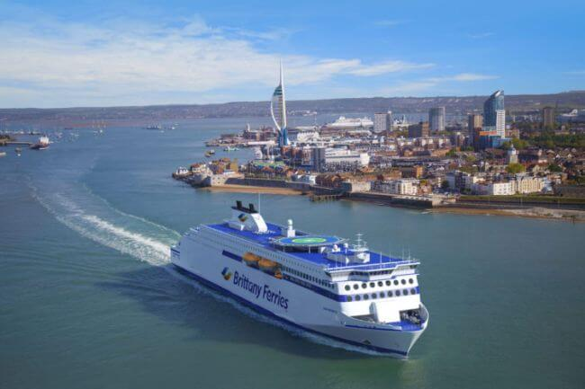 Brittany Ferries names new ships and promises significant CO2 savings from fleet renewal plans