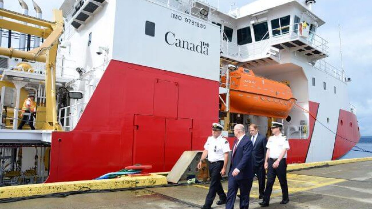 Seaspan Shipyards Delivers First Offshore Fisheries Science Vessel To Canadian Coast Guard