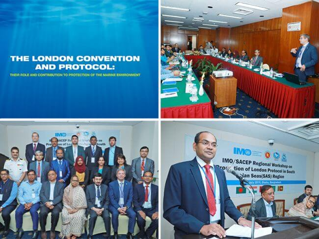 Prevention of marine pollution talks in South Asia region