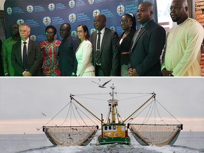 Safety of ships and fishing gets a boost in Ghana
