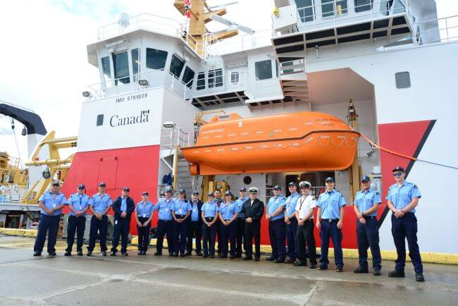 The-new-crew-of-the-CCGS-Sir-John-Franklin