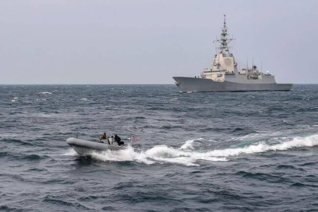 US Navy North Eastern Waters