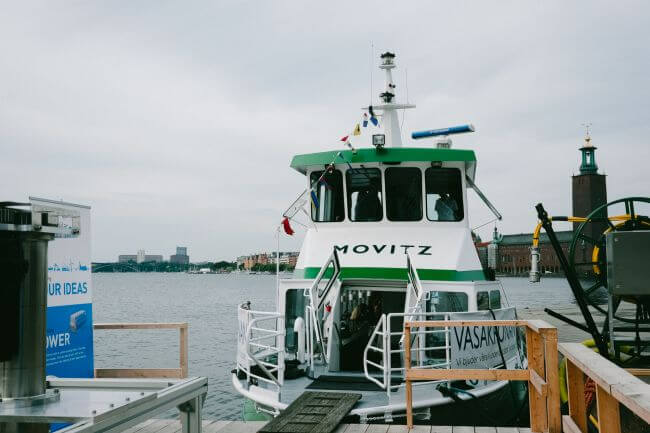 Vattenfall and Echandia Marine cooperate on electric ferry with superfast charging