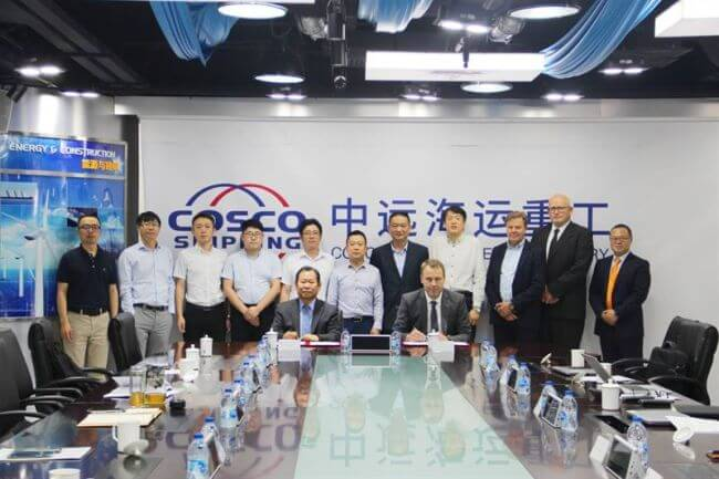Wärtsilä & COSCO Shipping Heavy Industry to cooperate in growth of exhaust gas cleaning market in China