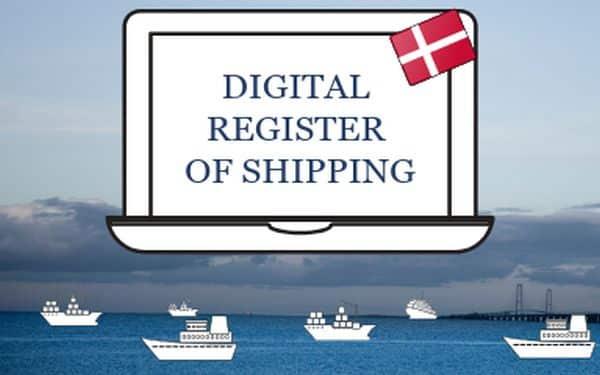 digital register of shipping dma dk