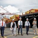 MSC Welcomes Canada's Prime Minister Justin Trudeau At Port Of Montreal