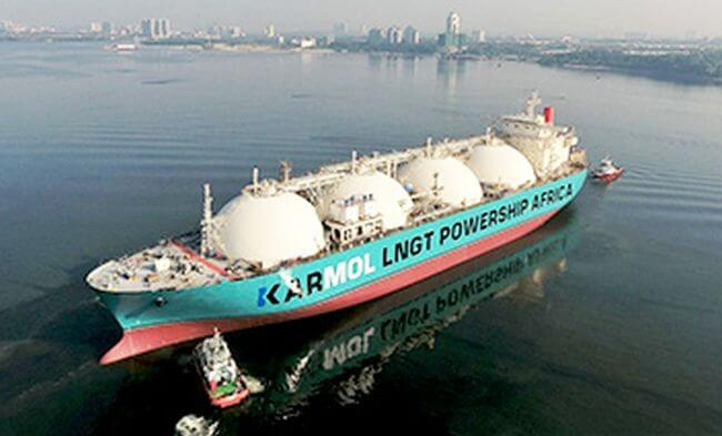 MOL and Karpowership announce the first LNG-to-Powership project