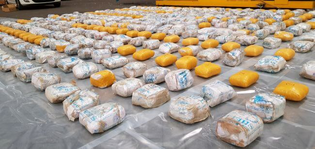 £40m heroin seizure after international operation
