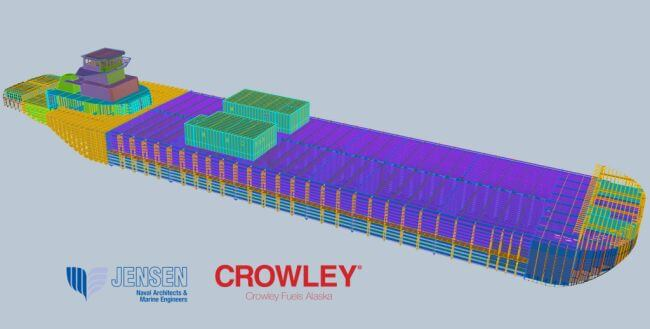 Crowley Fuels Plans New ATB for Enhanced Western Alaska Services