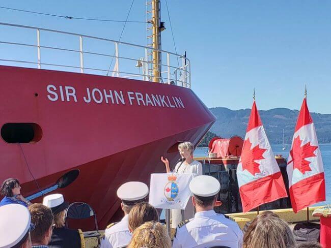 Canadian Coast Guard Fisheries Science Vessel