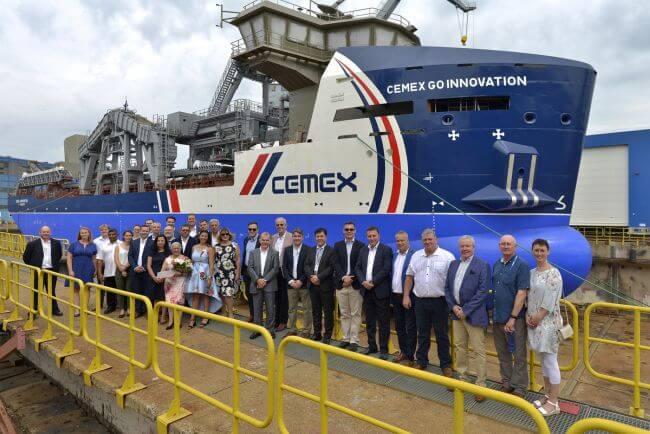 Damen MAD3500 launched at Damen Shipyards Galati