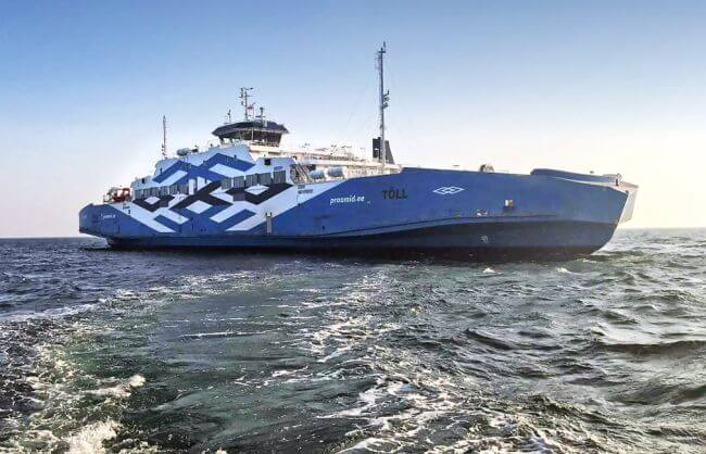 Estonia Battery-Hybrid Ferry