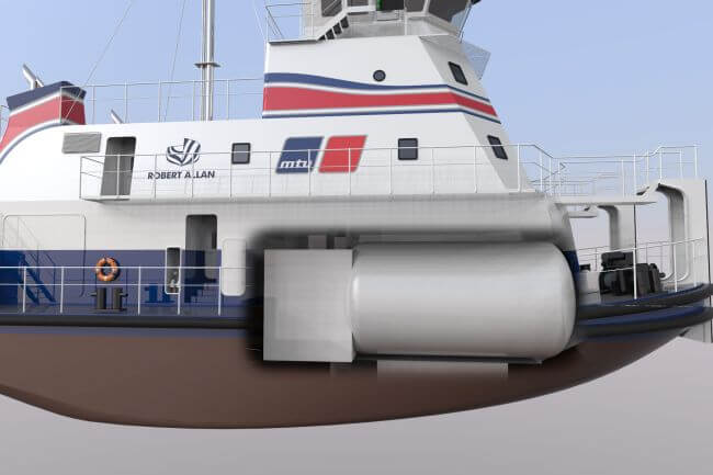 Robert Allan Ltd. And MTU Team Up To Develop First Natural Gas Fuelled Shallow Draft Pushboat