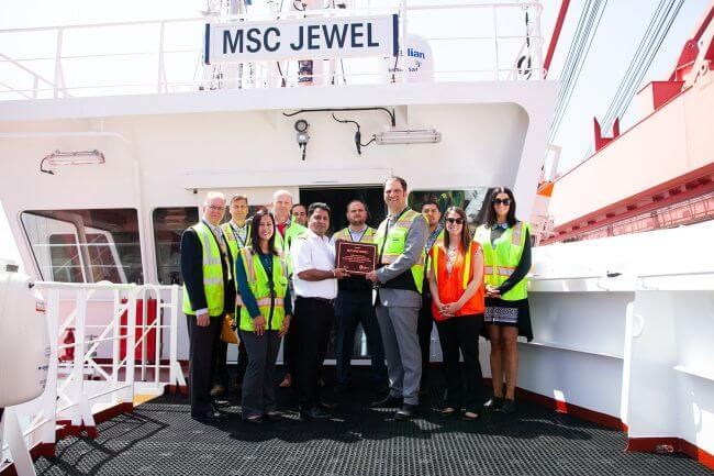 MSC Jewel Port Of Long-Beach