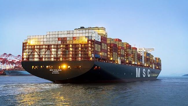 World's Largest Container Ship Completes First Voyage From Asia To Europe