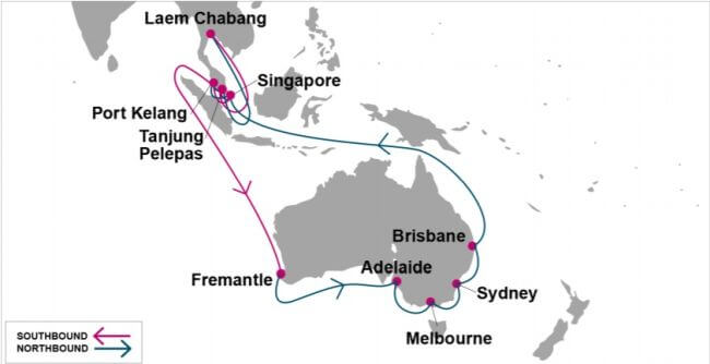 Ocean Network Express Enhances Asia Australia Services
