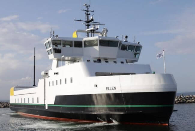Leclanché Powers The World's Largest Electric Ferry Which Has Completed Its Maiden Voyage