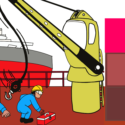 Real Life Accident Crane Fails During Discharging Operation, Narrow Escape For Crew