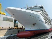 "Fincantieri: Launched ""Silver Moon"" In Ancona 29 August 2019"