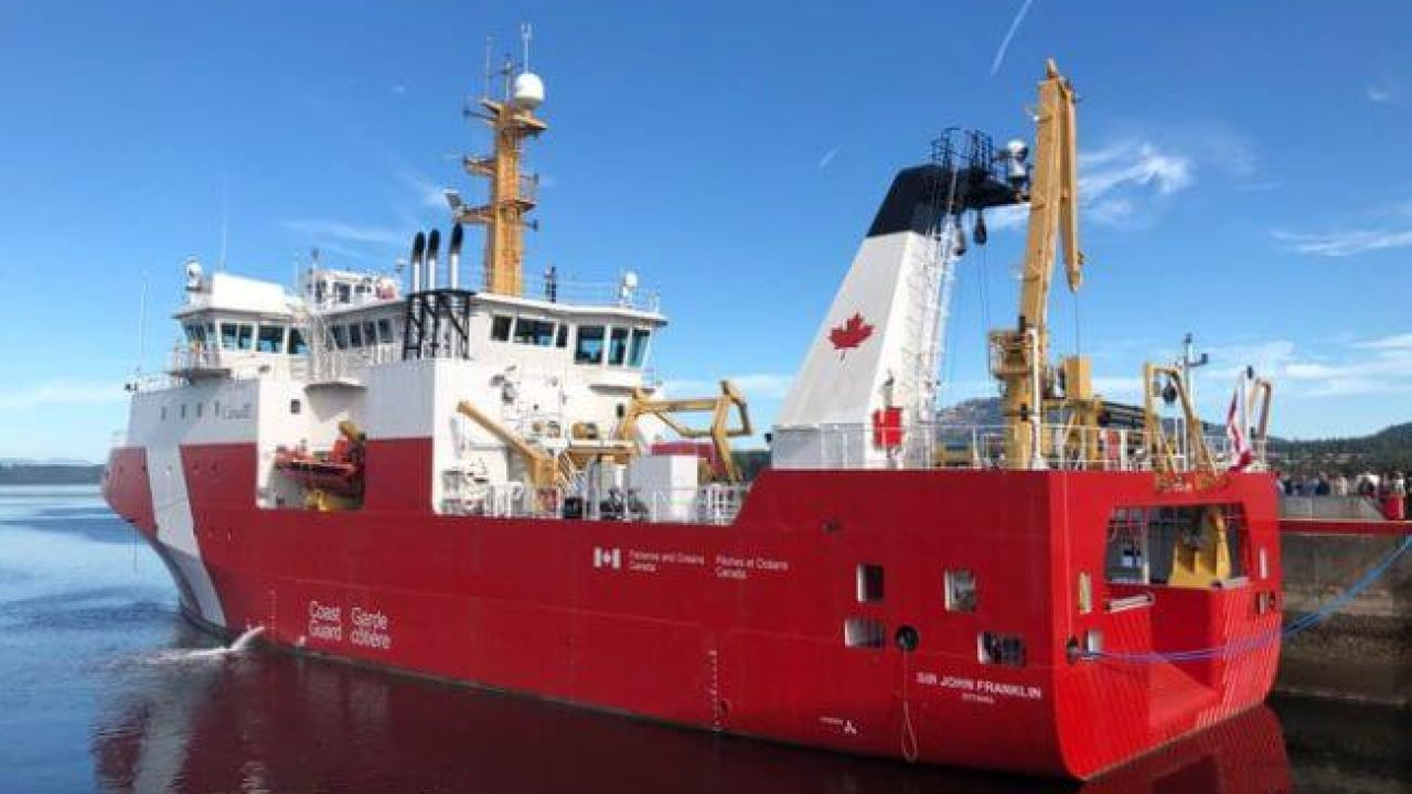 Canadian Coast Guard Names First Large Vessel Built Under The National Shipbuilding Strategy